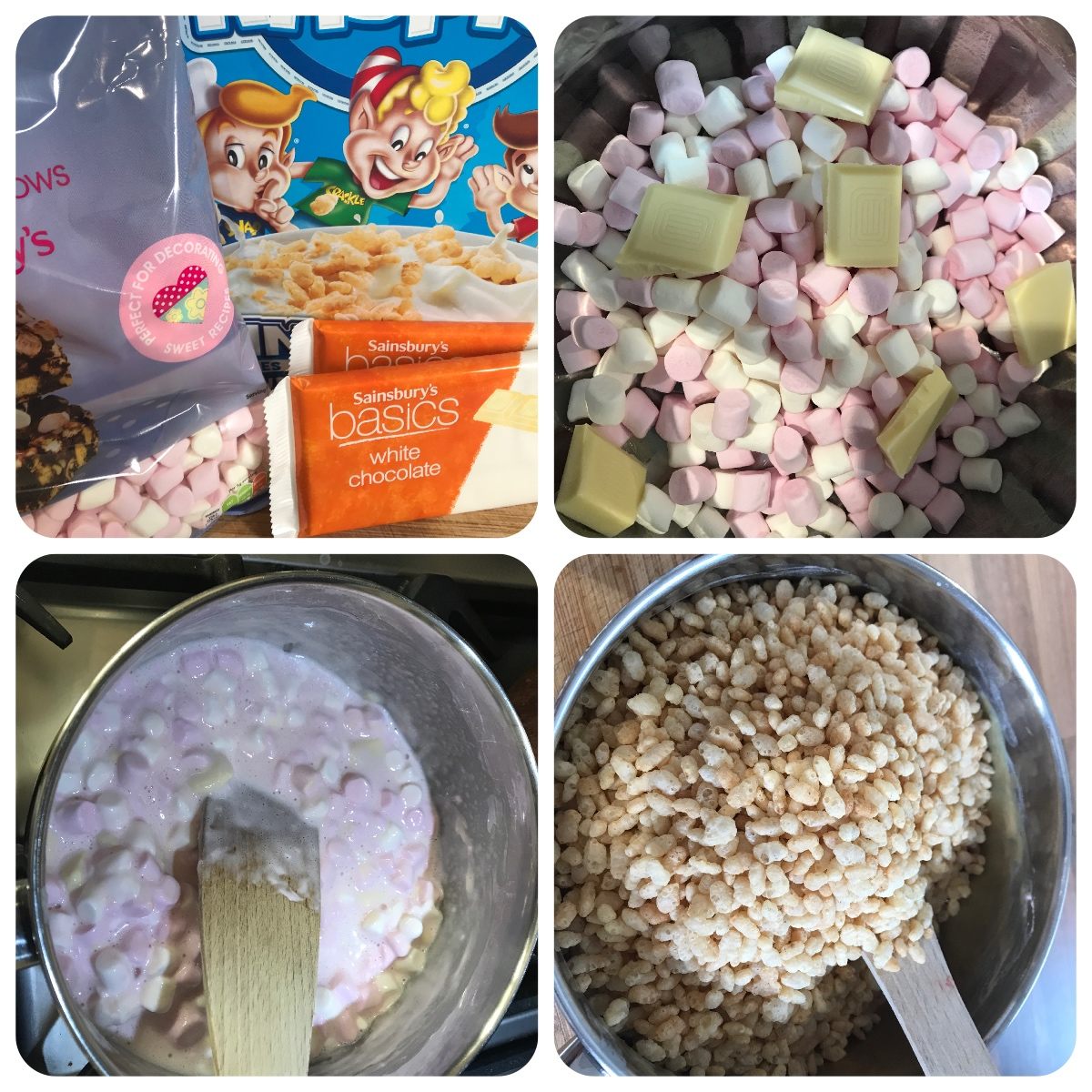How To Make Rice Crispy Cakes With Marshmallows And Toffee